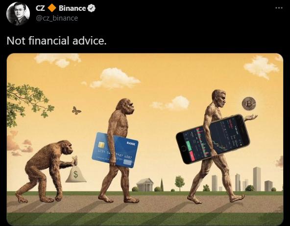 عاجل: مؤسس بينانس كوين، هل يختفي الدولار لصالح بتكوين؟